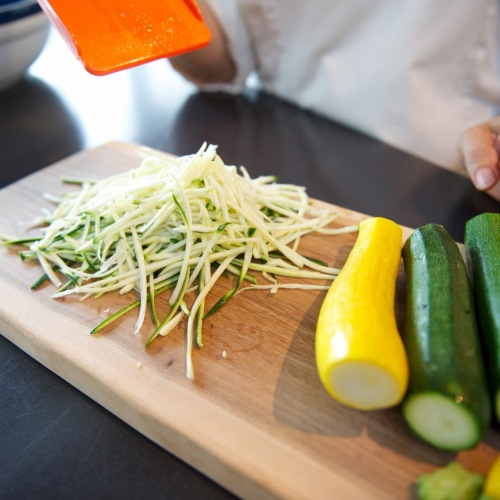 Julienne Vegetable Slicer Zucchini
